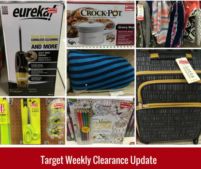Target Weekly Clearance Update 12