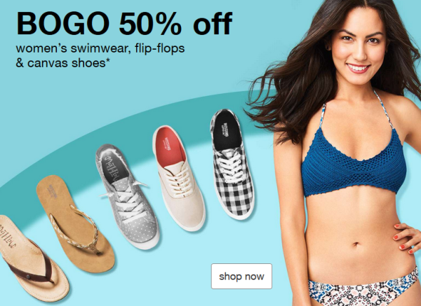 f3c8773bc7443 Buy One, Get One 50% off Women's Swimwear & Shoes | All Things Target