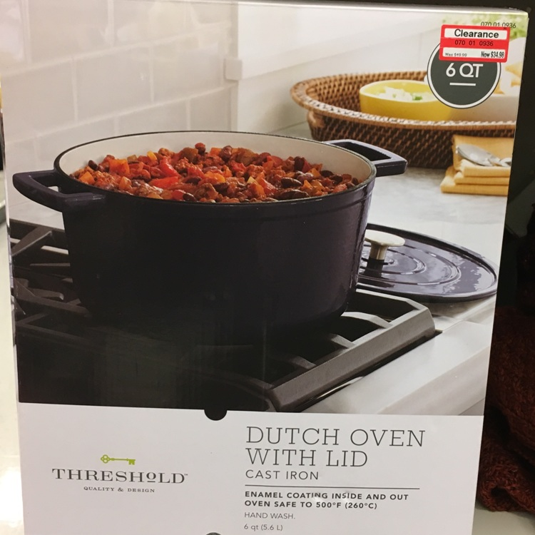 target w clear dutch oven 30