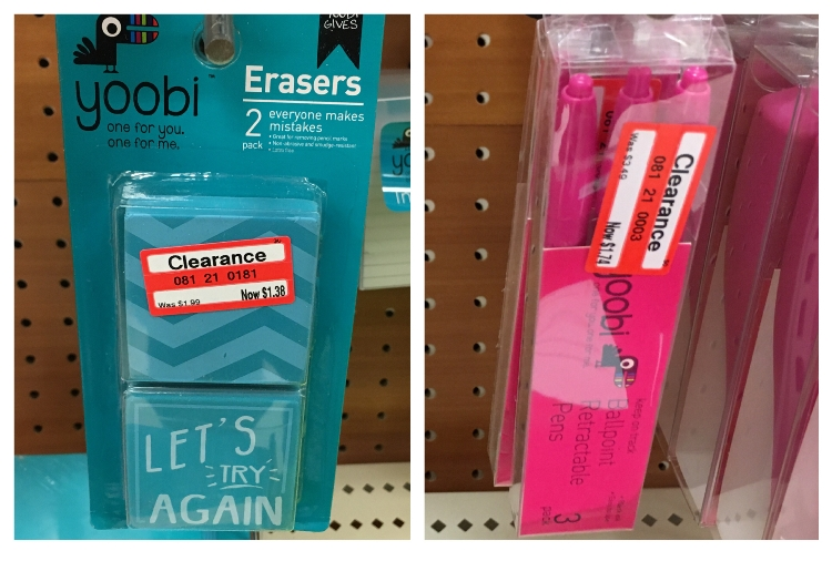 target w clear pens