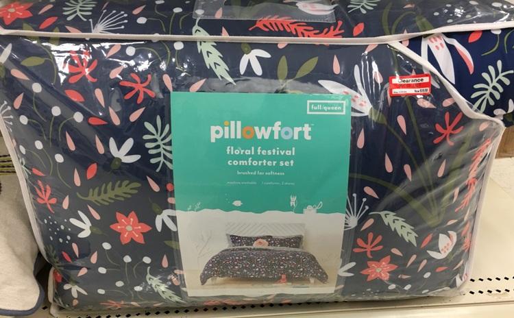 target w clear pilowfort comf 50