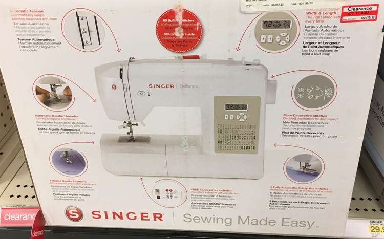 target w clear singer