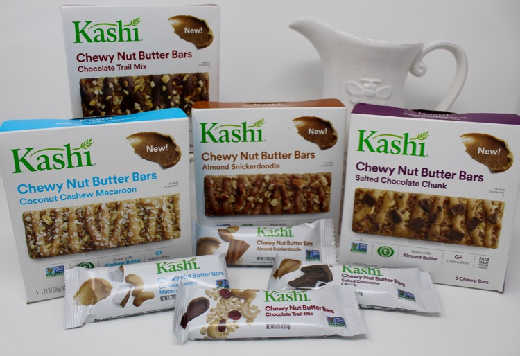 Kashi Chewy Nut Butter Bars & Go Lean Chocolate Crunch