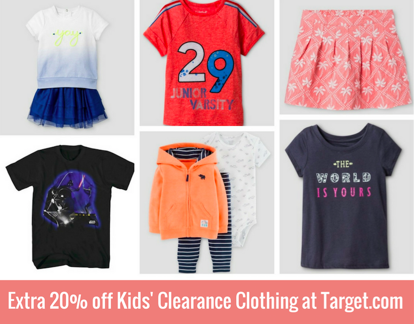 b1fd0aa02 Extra 20% off Kids' Clearance Clothing | All Things Target
