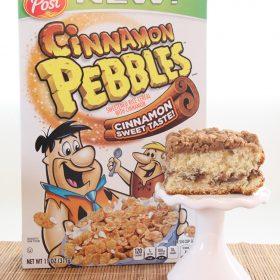Cinnamon Pebbles Coffee Cake + Cartwheel for 20% off Post Cereals
