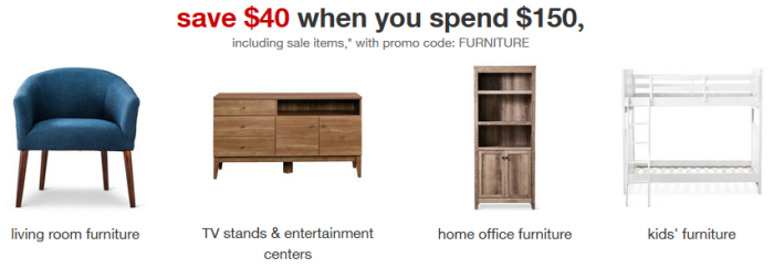 Target Furnutire Coupon All Things Target