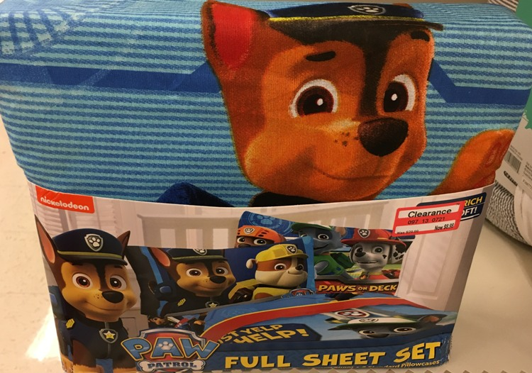 Simple I also found some kids u bedding for off including this Super cute Paw Patrol kids u sheet set it was only