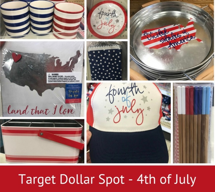 May The 4th Be With You Deals: Target Dollar Spot: New Items For 4th Of July