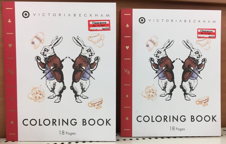 I Found Some Fun Victoria Beckham Coloring Books For Kids 70 Off And Priced At Only 330 Reg 1100