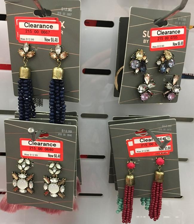target w clear earrings | All Things Target