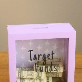 DIY Target Funds Bank with Free Printable