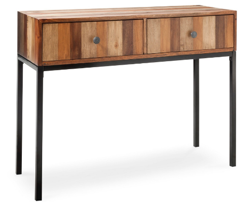 Epic Threshold Hernwood Mixed Material Console Table reg