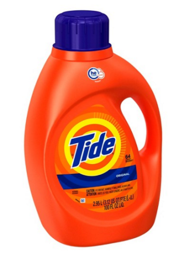 You Can Save 50 On A Big 100 Oz Bottle Of Tide Liquid Laundry Detergent Thanks To The 5 Gift Card Offer When Buy 2 Select Paper Cleaning Items
