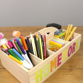 DIY Homework Caddy