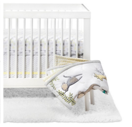 Lovely Cloud Island Crib Bedding Set Monkeys u Giraffes piece Set Pay ud Get gift card with purchase Final Price ud after you factor in