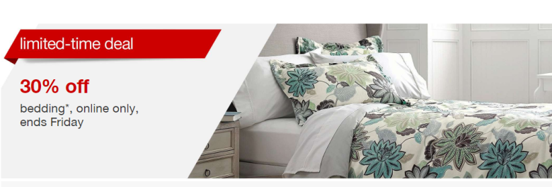 Superb Today only Target is taking off select bedding no code needed prices are as marked Now is a great time to buy some new bedding sets sheet sets