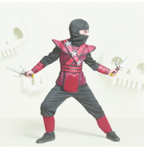 Target halloween costume sale all things target kids regal red ninja costume 1200 reg 2000 solutioingenieria Image collections