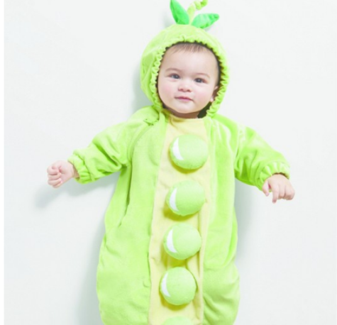 78b5e93a34e1 Hyde and Eek! Baby Plush Peapod Bunting Costume $12.00 (reg $20.00)