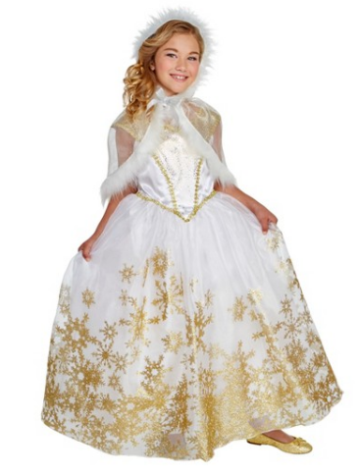 fa3a2e8333b9 Hyde and Eek! Boutique Girls' Snow Queen Deluxe Costume $18.00 (reg $30.00)
