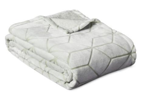 Simple Room Essentials Micromink Printed Blanket Twin reg