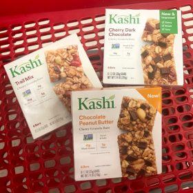 New Kashi Chewy Nut Butter Bars + 35% off Kashi Cartwheel Offer