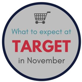 What to Expect at Target in November
