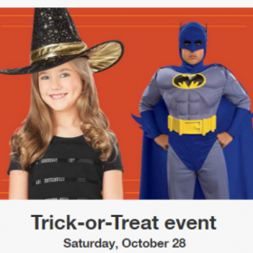 FREE Trick-or-Treat & Paw Patrol Event for Kids at Target