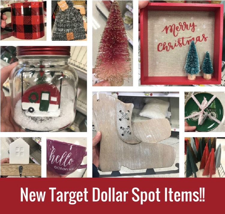 the time when we see magical new goodies in the target dollar spot bullseyes playground for christmas and winter as usual there are some super cute