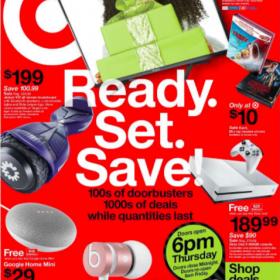 Target Black Friday Ad 2017