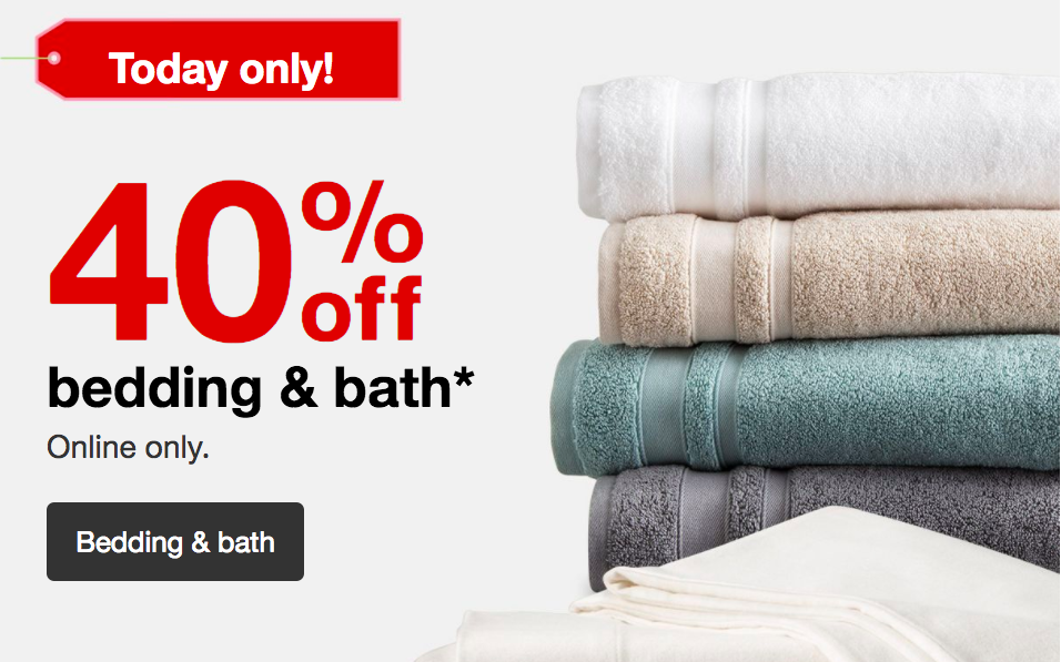 Target 40 Off Bedding And Bath All Things Target