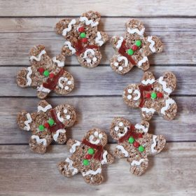 Cocoa Krispies Gingerbread Men