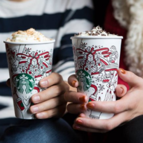 Buy One, Get One Holiday Drink FREE at Starbucks