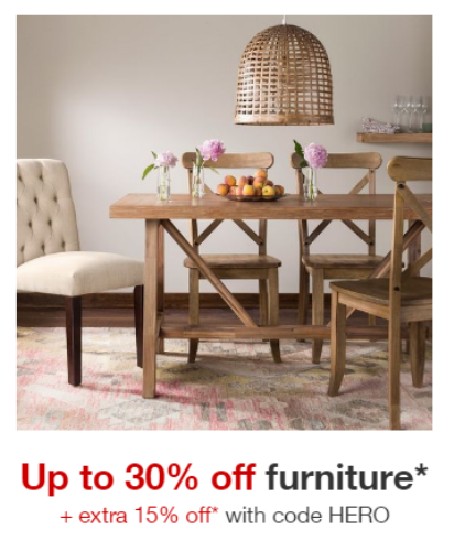 Target Furniture Sale Extra 15 Off All Things Target