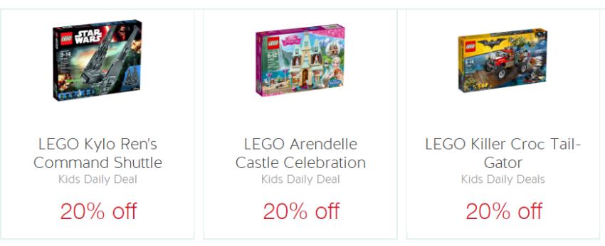 314660924b2 You can save 20% off several LEGO Star Wars, Batman, Disney Princess and  Super Hero sets: