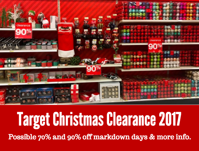 Target Christmas Clearance 2017 | All