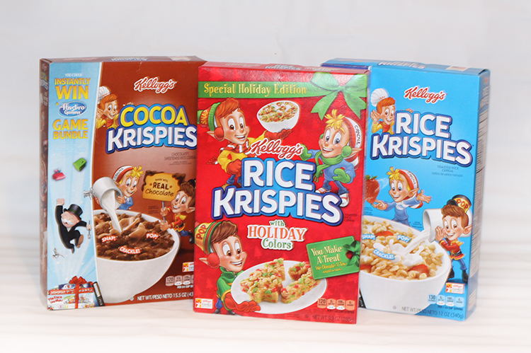 you will find a variety of kelloggs rice krispies cereals at target including a box with fun holiday colors even better through 12917 you will find