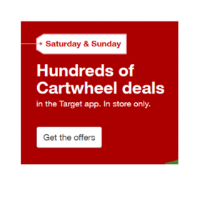 Hundreds of Weekend Cartwheel Offers = FREE Hair Care