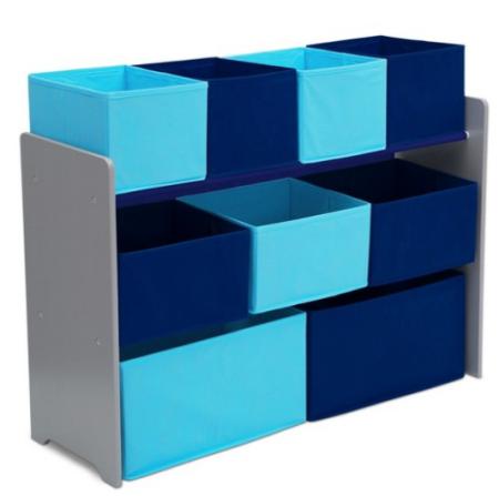 Good Delta Children Deluxe Toy Organizer with Storage Bins reg SAVE