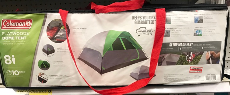 There was a big selection of sporting goods 70% off tents outdoor games stoves and so much more. & Target January Clearance | All Things Target
