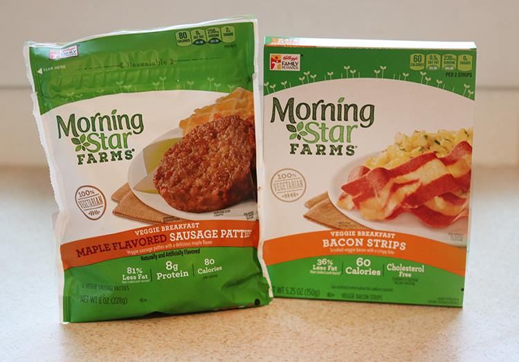 Breakfast Cups with MorningStar Farms