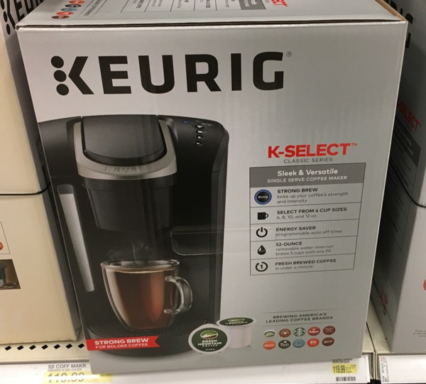 Keurig K Select 50 Gift Card With Purchase Free Shipping All