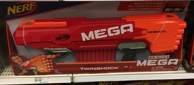 Target.com: NERF N-Strike Mega Twinshock Blaster ONLY $14.09 (Regularly  $40) – Hip2Save