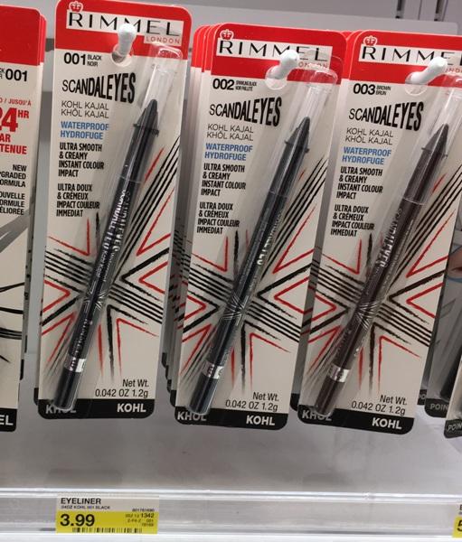 image regarding Rimmel Coupons Printable known as Rimmel Eyeliner basically $.99 ($3/1 printable coupon) All