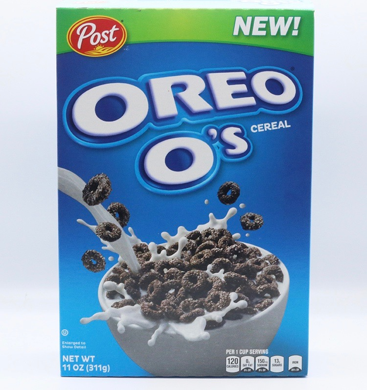 Post OREO O's Cereal Trail Mix