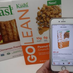 40% off Kashi Cereals with Cartwheel