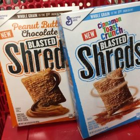 General Mills Blasted Shreds Cereal only $1.24