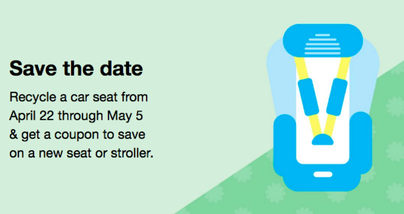 The Car Seat Trade In Event Will Be Happening At Target Stores April 22nd Through May 5th Simply Bring Your Old To Guest Services And Youll