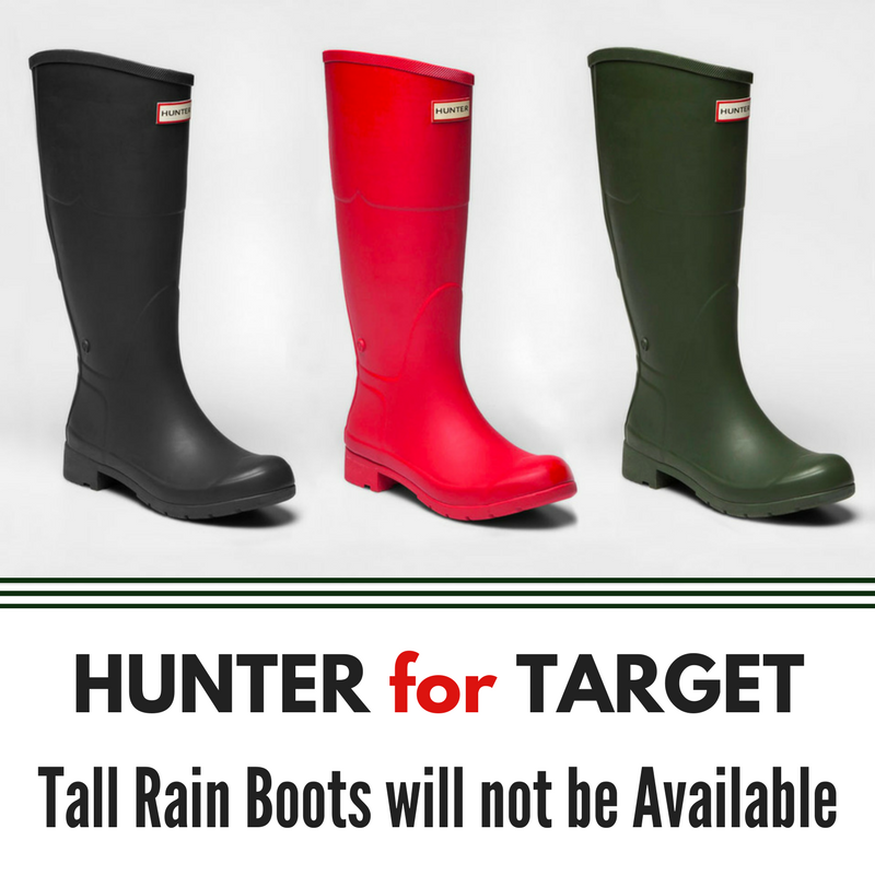 Hunter for Target Rain Boots Cancelled | All Things Target