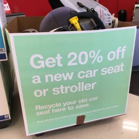 Car Seat Trade In Event at Target