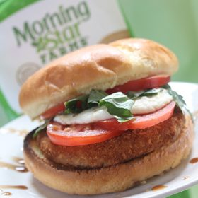 Bruschetta Sandwich with MorningStar Farms